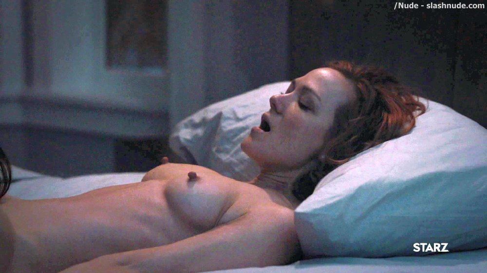 Anna Friel Louisa Krause Nude Lesbian Sex Scene In Girlfriend Experience 46