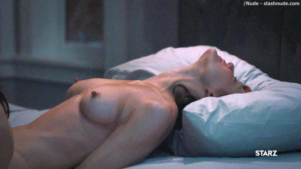 Anna Friel Louisa Krause Nude Lesbian Sex Scene In Girlfriend Experience 49