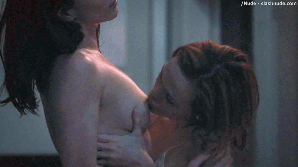 Anna Friel Louisa Krause Nude Lesbian Sex Scene In Girlfriend Experience 9