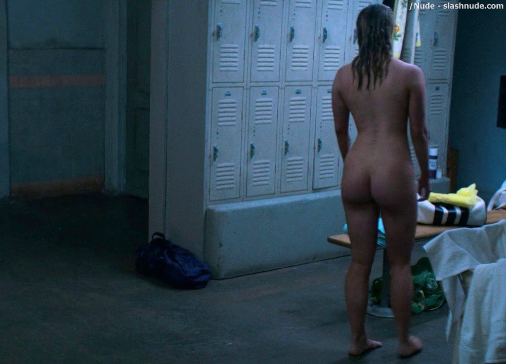 Betty Gilpin Nude In Shower On Glow 13