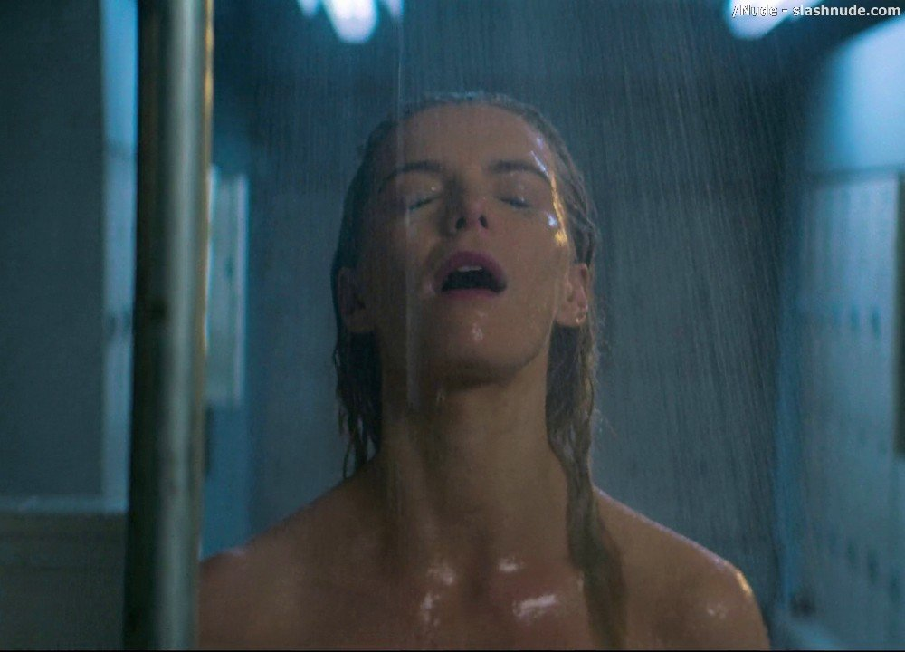 Betty Gilpin Nude In Shower On Glow 2