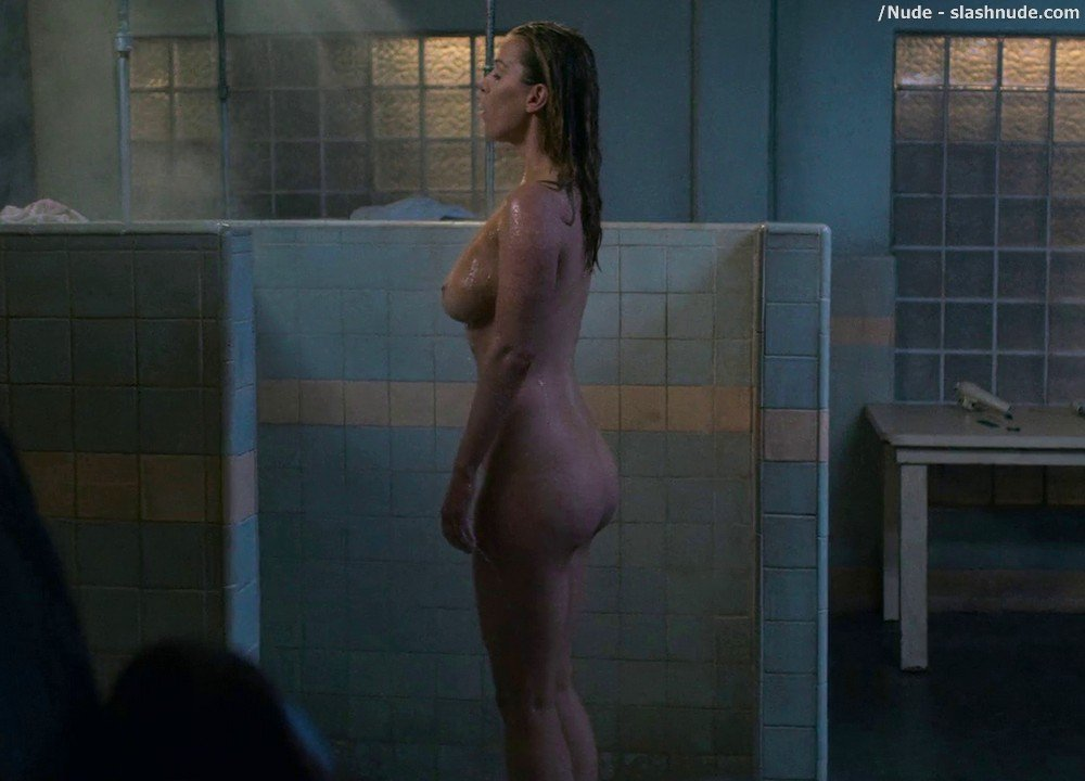 Betty Gilpin Nude In Shower On Glow 4