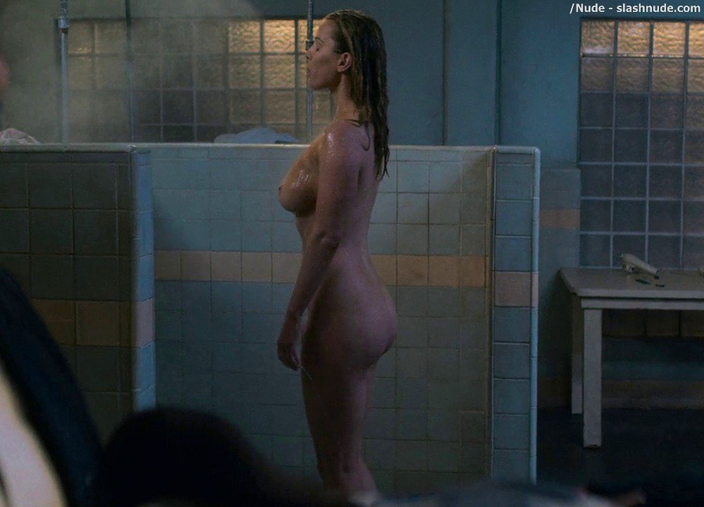 Betty Gilpin Nude In Shower On Glow 5