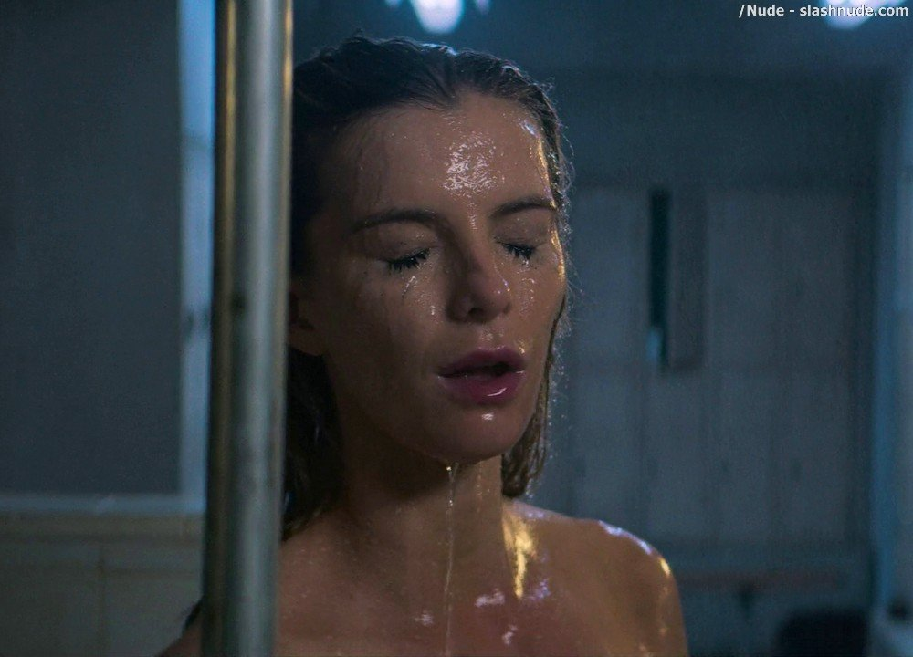 Betty Gilpin Nude In Shower On Glow 8