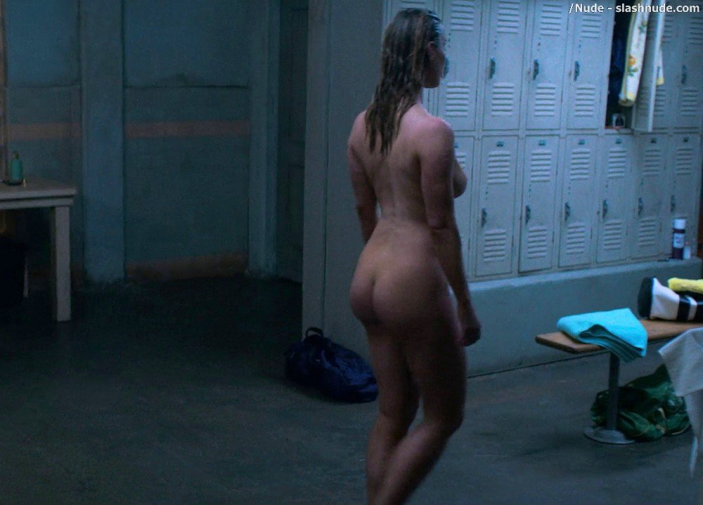 Betty Gilpin Nude In Shower On Glow 9