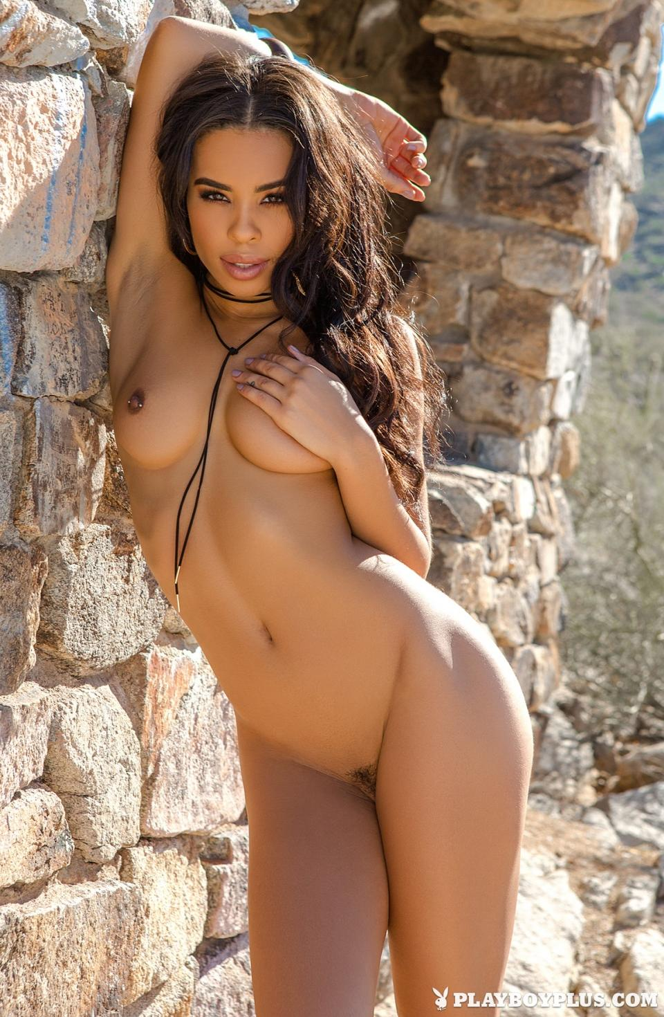 Briana Ashley Nude In Desert For Playboy 12