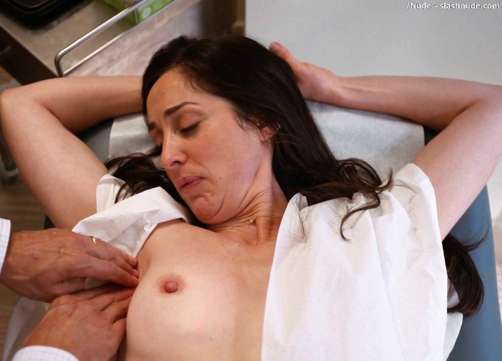 Catherine Reitman Topless Exam In Workin Moms 13