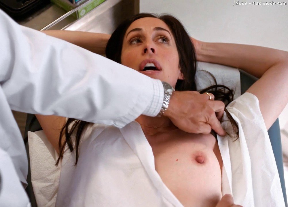 Catherine Reitman Topless Exam In Workin Moms 3