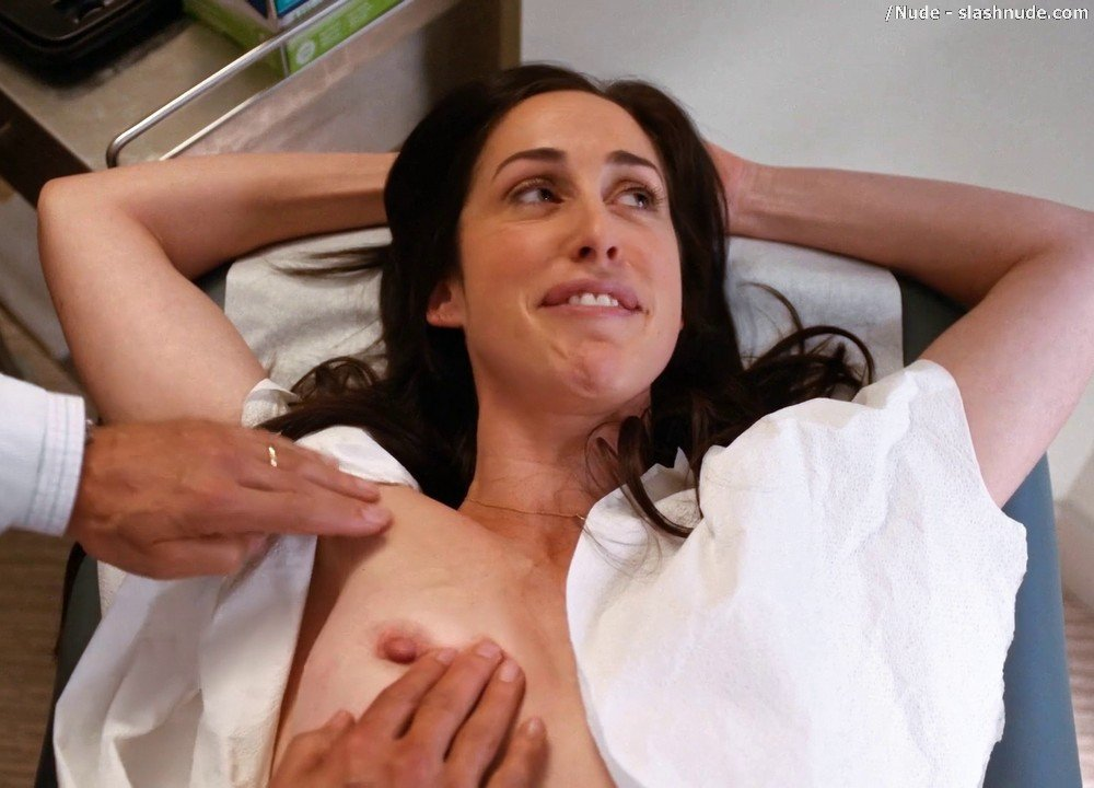 Catherine Reitman Topless Exam In Workin Moms 9