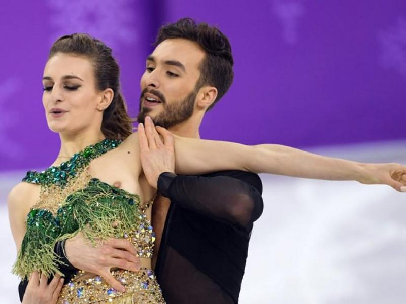 Gabriella Papadakis Uncensored Flash During Olympics Performance 2