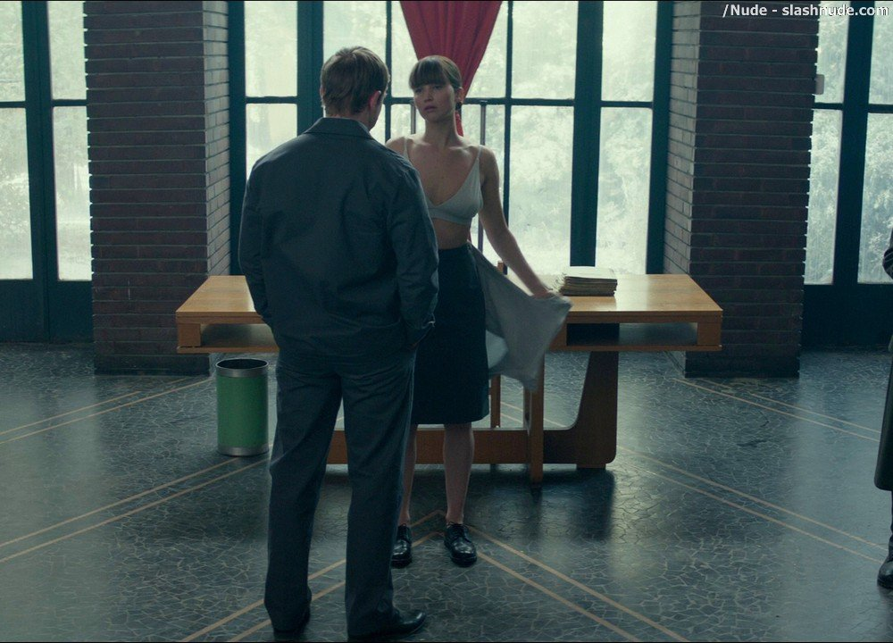 Jennifer Lawrence Nude In Red Sparrow 2