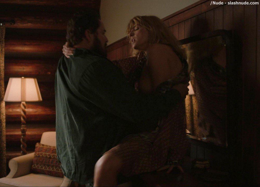 Kelly Reilly Topless In Yellowstone 3