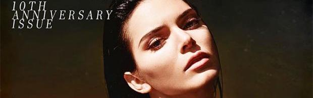 kendall jenner topless in love shoot 7889