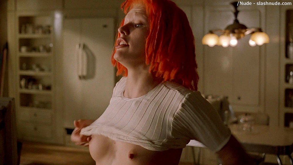 Milla Jovovich Nude In The Fifth Element 15