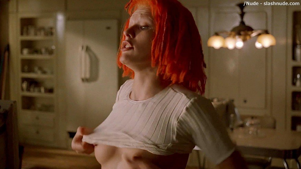 Milla Jovovich Nude In The Fifth Element 16
