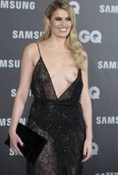 adriana abenia flashes breast at gq men of year awards 3948 3