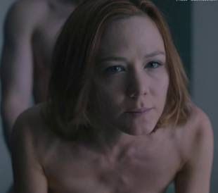 anna friel topless with louisa krause in girlfriend experience 1557 16