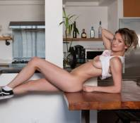 dakota burd nude in sneakers for playboy 7414 5