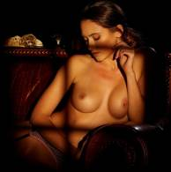 deanna greene nude with a glass of wine for playboy 13