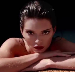 kendall jenner topless in love shoot 7889 1