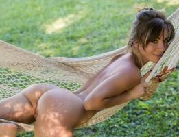 lilii o nude on a hammock in playboy 2642 13