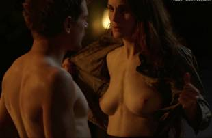 michelle dockery topless in godless 8304 3