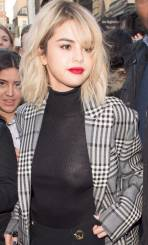selena gomez flashes nipples wearing see through in london 7524 3