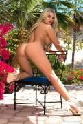 tahlia paris nude in backyard for playboy 5045 10