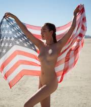 willa prescott nude for american pride 1516 26