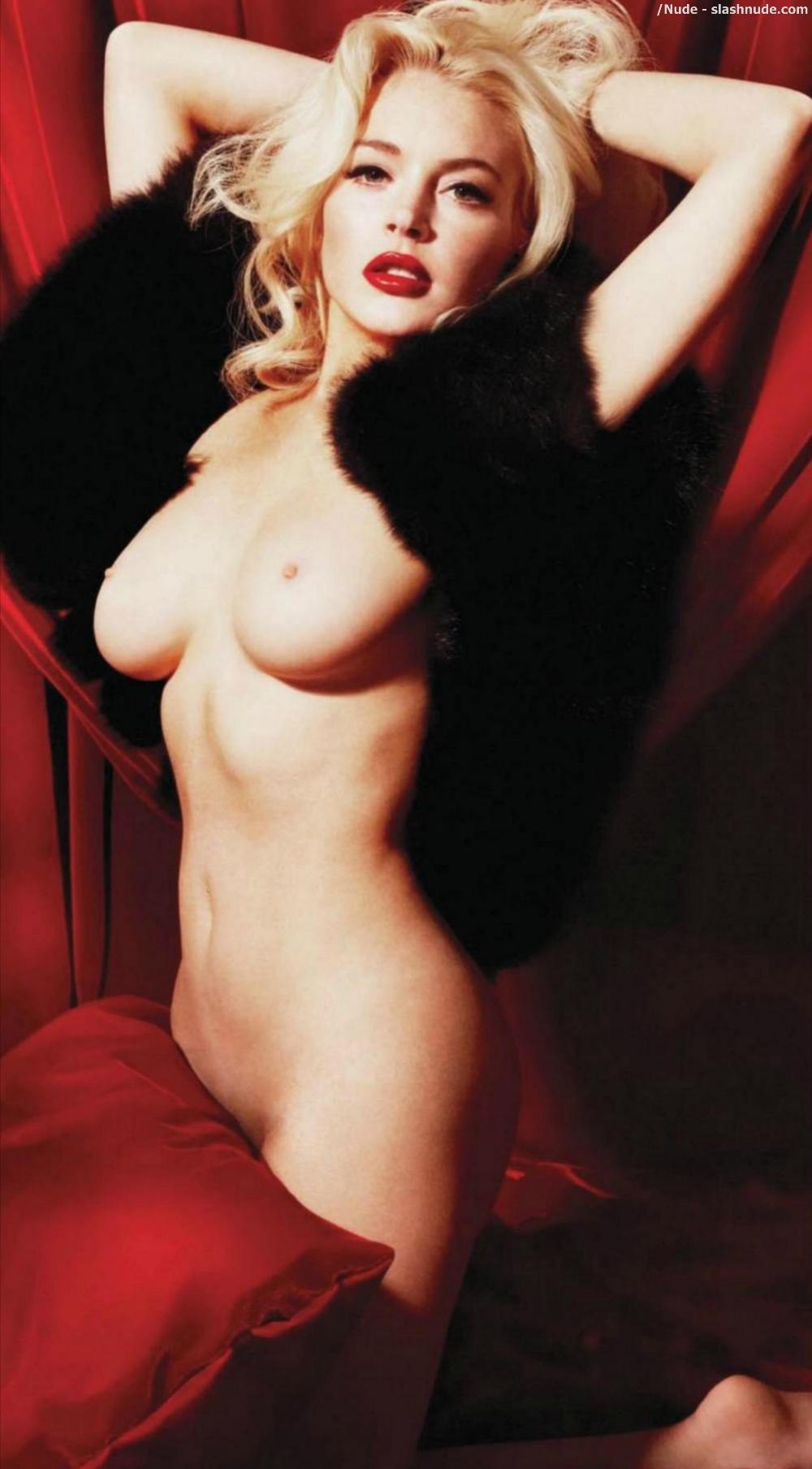 Bikini Lindsay Lohan Marilyn Monroe Nude Pic