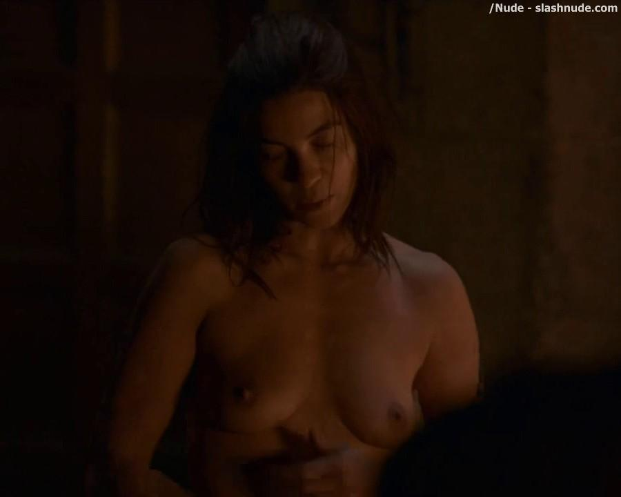 Natalia Tena Completely Nude In Game Of Thrones