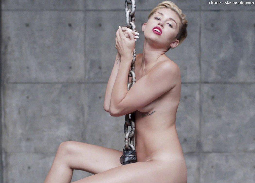 Miley cyrus nude train req